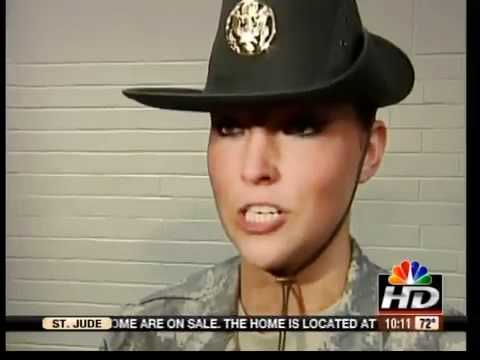 Female Drill Sergeant Hat