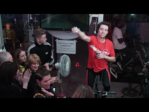 Grimmy's Sport Relief Challenge: 12 hours on a bike!