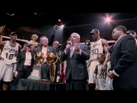 2003 NBA Champions: San Antonio Spurs (Trailer)