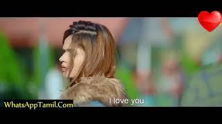 Tamil heart touching kiss  video  whatsapp status