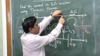 Download Thevenin's Theorem - by Prof. Dr. C. B. Bangal 3Gp Mp4