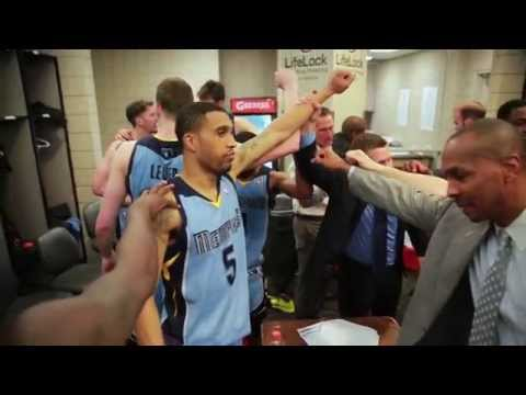 Memphis Grizzlies All-Access: Lockeroom After Clinching Playoff Berth