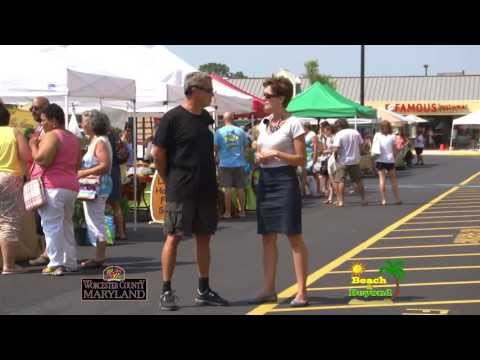 "Berlin Organics & West OC Farmers Market for Worcester County Tourism and ""Beach & Beyond"""