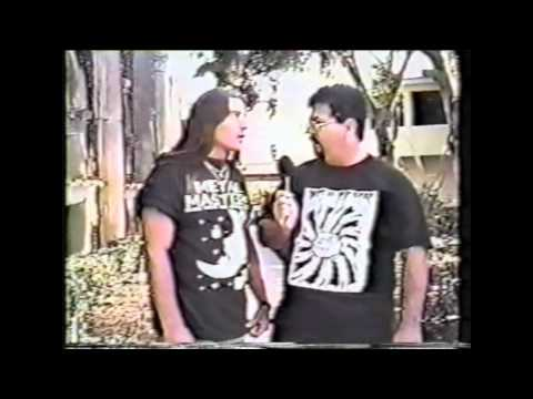 Savatage : Criss Oliva Interview / Tampa Bay Promo / Zachary
