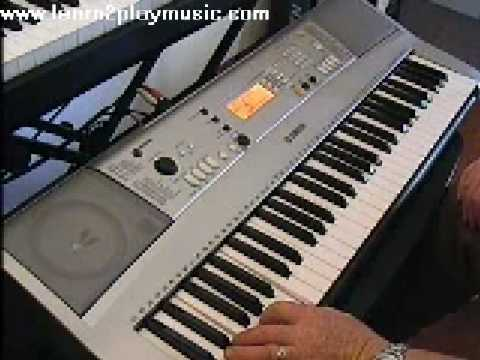 Yamaha PSR-E313 demo EZ Keyboard Lesson from www.roamstarmusic.com
