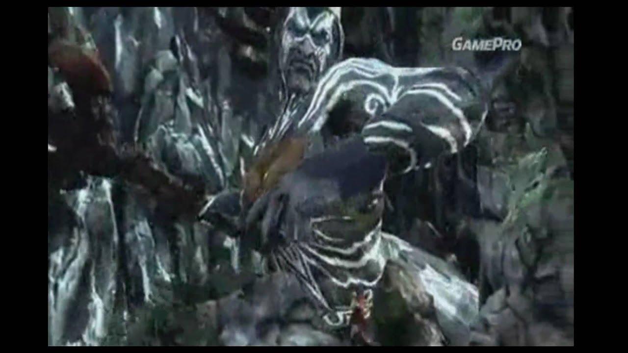 God of War III Kratos vs Poseidon - YouTube