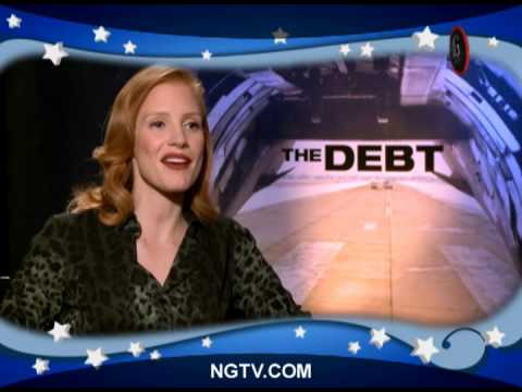 Sam Worthington & Jessica Chastain on The Debt