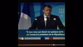 Alerte!! Macron annonce l'holocauste de ses maîtres sur la France! Dieu est avec nous!!