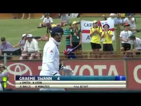 Graeme Swann's Final Over and Final Innings in Test Cricket