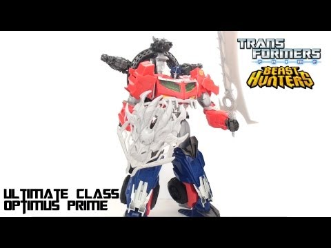 Video Review of the Transformers: Beast Hunters Ultimate Class Optimus Prime