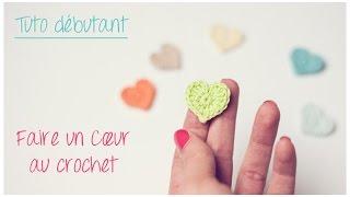 Mini coeur au crochet pour débutant / Crochet an easy tiny heart
