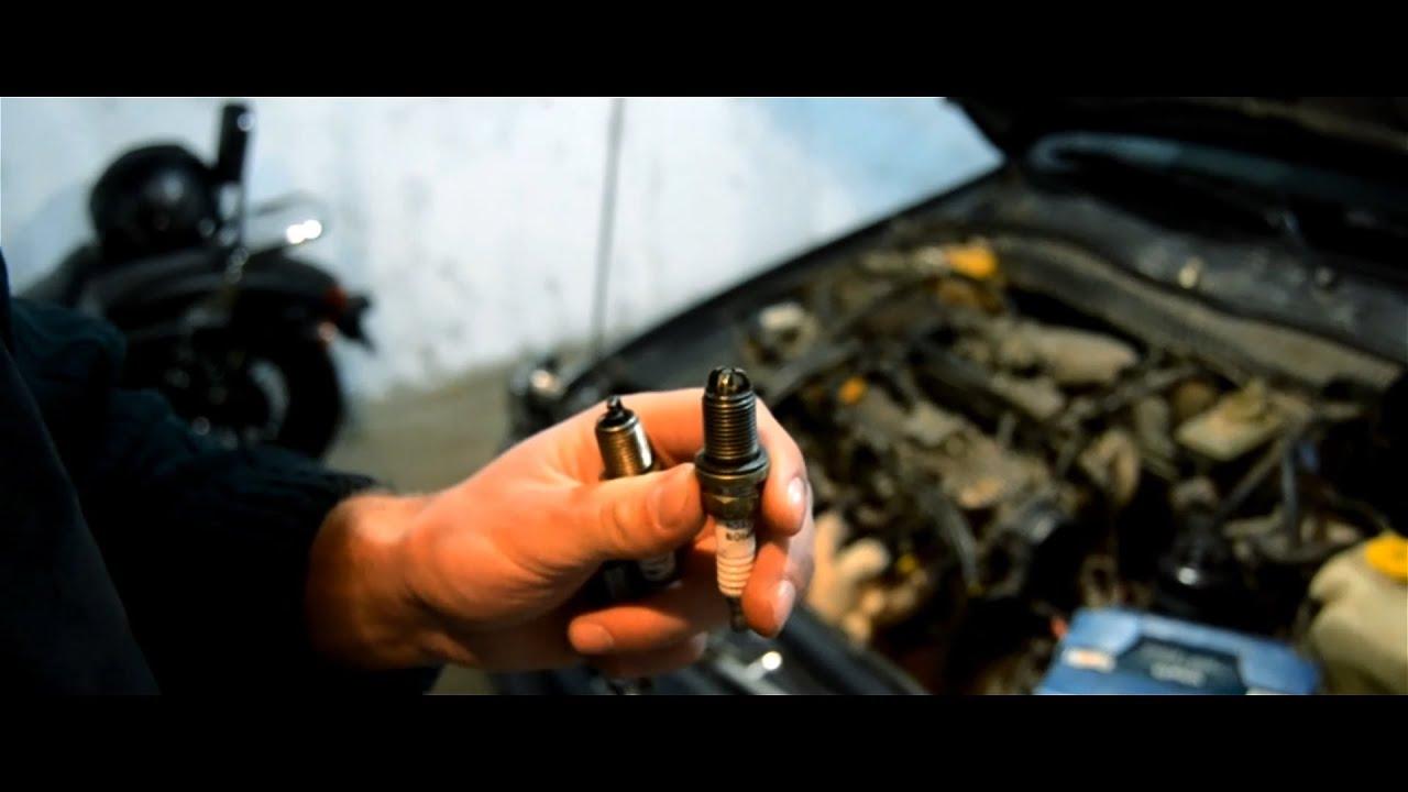 Замена свечей зажигания на форд фокус 2 18 своими руками