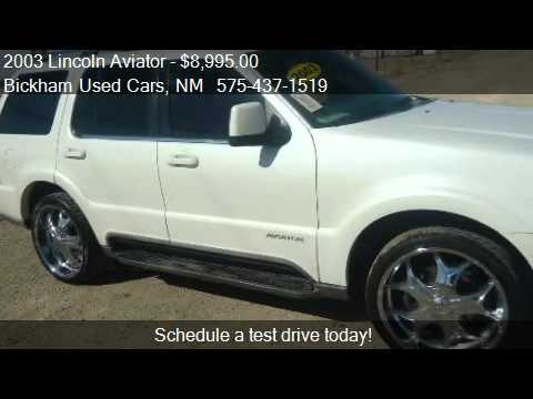 2003 Lincoln Aviator Luxury AWD - for sale in Alamogordo, NM