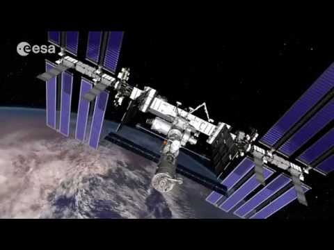 Soyuz Launch & Docking Space Station ISS - Video