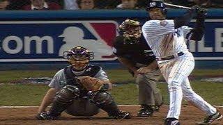 2001 ALCS Gm4: Bernie's homer in eighth ties game