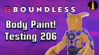 Body Paint   Testing 206   Boundless