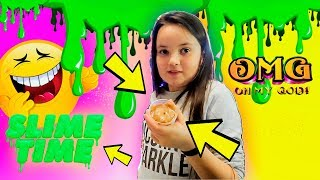 SLIME TIME WITH THE KIDS!