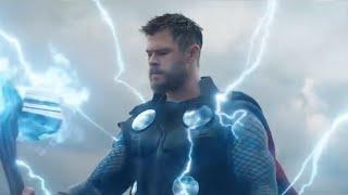 CENA BRUTAL! Thanos cortando o braço de Thor em Vingadores: Ultimato