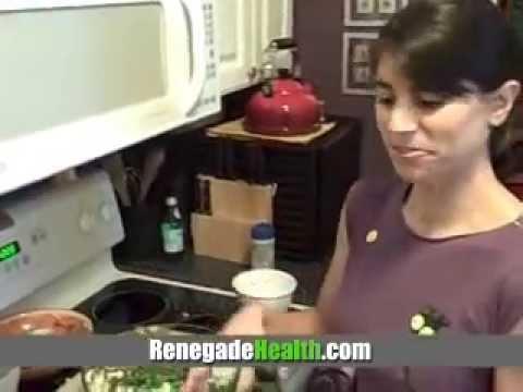 Summer Corn Salad Raw Food Recipe #117