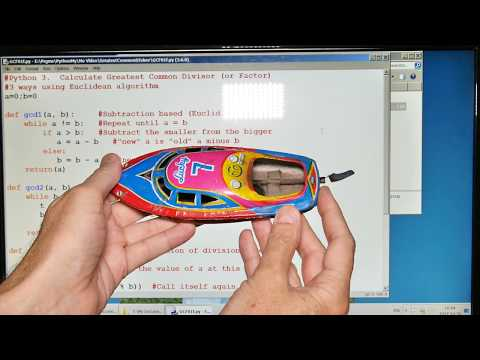Pop Pop Boat Program - Testing A Theory via Computer