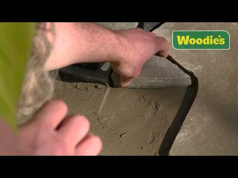 How to lay crazy paving by Kevin Williams