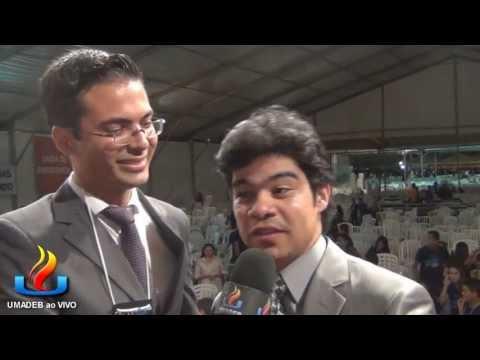 UMADEB 2013  Dia 12-02 - Entrevista cantor Samuel Mariano