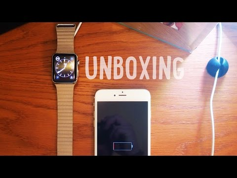 Apple Watch: Stone Leather Loop Unboxing And Setup