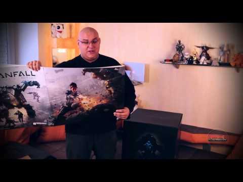 Титанический Unboxing! Распаковка невероятно крутого коллекционного издания Titanfall