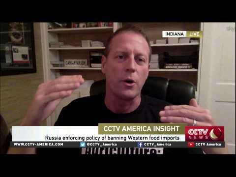 Damian Mason on Russia food import bans