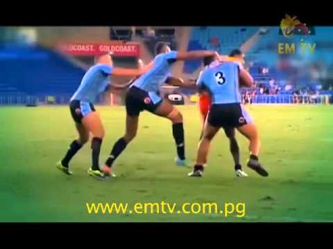 Pacific Rugby League Test Match On EMTV