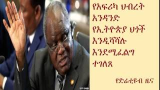 DireTube News - AU Election Mission Requests Review Of Ethiopia's Controversial Legislations