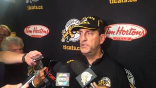 Ticats Kent Austin after loss to Alouettes