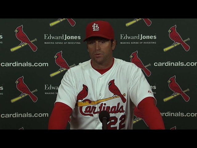 MIL@STL: Matheny discusses Cardinals' walk-off win