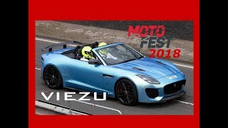 Jaguar F Type Running 670bhp on track at Coventry