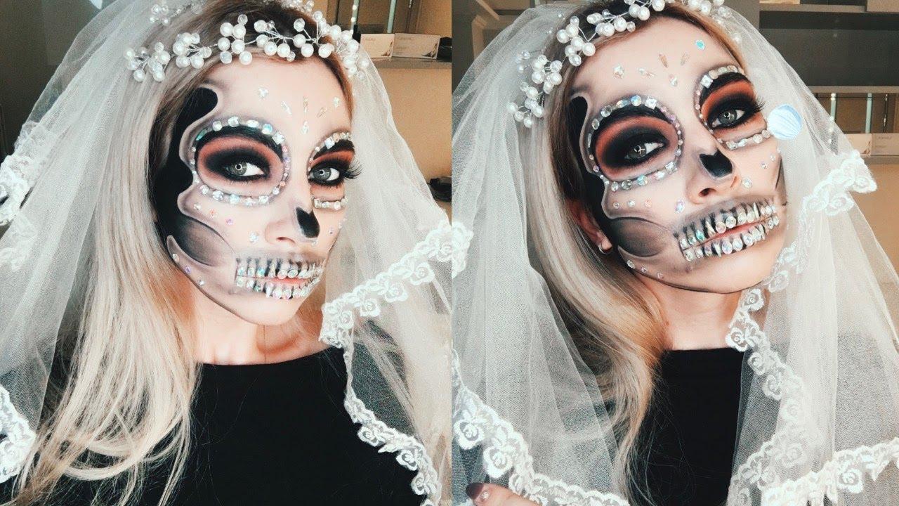 Макияж невесты на хэллоуин своими руками