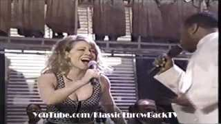 "Boyz II Men Video - Mariah Carey ft. Boyz II Men - ""One Sweet Day"" Live (1996)"