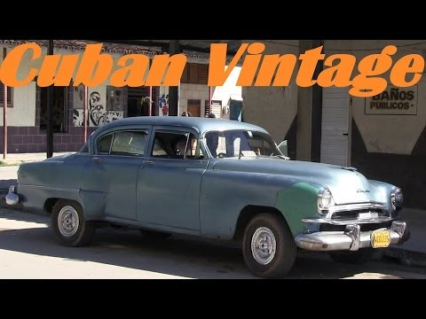 American Classic Cars in CUBA - Travel to CUBA - 1950's Vintage Cars