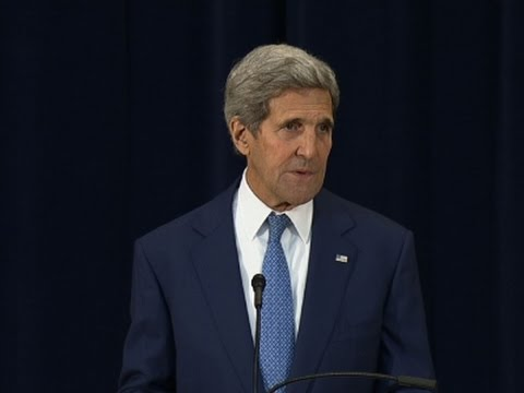 Kerry on Trafficking: A 'Battle Against Evil'
