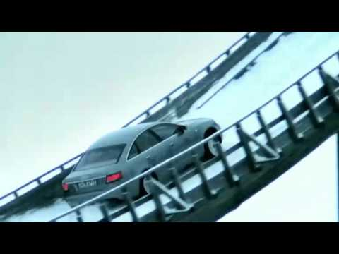 Audi Quattro Ski Jump commercial 2005