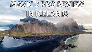 Mavic 2 Pro Review in ICELAND