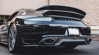 Porsche 991 Turbo S Modded with Akrapovic Titanium Exhaust & More!