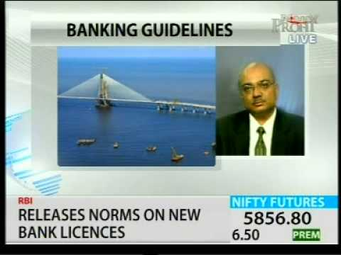 Guidelines Issued By RBI For New Banking Licences, ASHWIN PAREKH NP 220213 1811PM