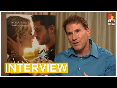 The Lucky One | Nicholas Sparks EXCLUSIVE Interview (2012)