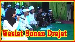 WASIAT KANJENG SUNAN DRAJAT ❤ Jam'iyah Sholawat AJISOKO Music Orcestra ❤ Live Show Tuban 2016