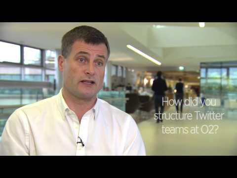 Ronan Dunne - CEO O2 Talks Twitter