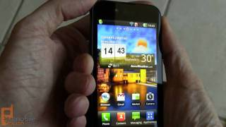 LG Optimus Black video tour - part 1 of 2