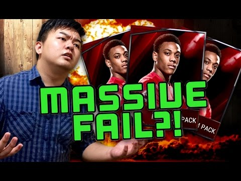 MASSIVE FAIL PACK OPENING!! 200K+ LOST IN A SESSION??!! FIFA MOBILE IOS / ANDROID