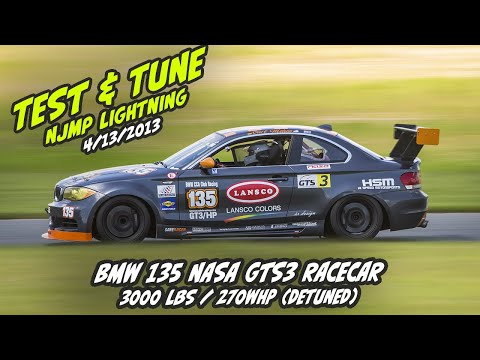 BMW 135 Test & Tune NJMP Lightning 4/13/2013