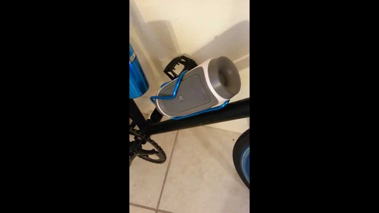 Jbl Charge Bluetooth Speaker On Bicycle Youtube