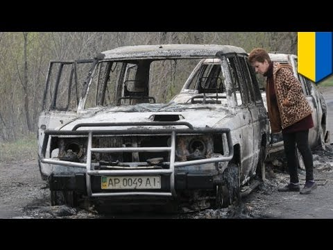 Gun battle: Ambush at Ukrainian checkpoint leaves several dead